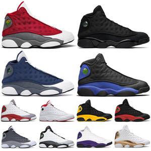 air jordan retro Tênis de basquete masculino Jumpman 13 13s Flint Hyper Royal Chicago Atmosphere cinza Gato preto de raça Court Purple tênis masculino esportivo
