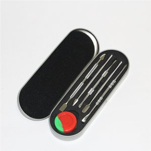Titanium Tool Dab Tool Dry Herb Vaporizer Colorful Tool kit Dabber Wax Atomizer for Container Vapor Pen Kit
