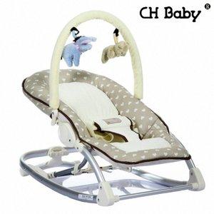 Freies Verschiffen Busy Baby-Mental-Baby-Schaukelstuhl Infant Lehnstuhl Cradle Handbetrieb Stuhl z6mE #