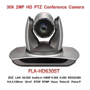 2MP 30X 광학 줌 1080P 60FPS PTZ 방송 카메라 1080P 3G-SDI IP DVI 비디오 오디오 통신 시스템