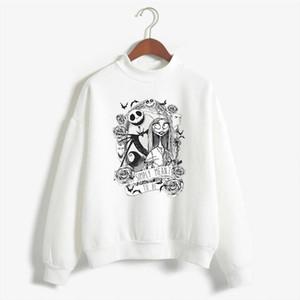 Nightmare Before Christmas cartoon Jack Skellington Women Pullover Grimace 2020 NEW Harajuku Hip Hop Streetwear Sweatshirt