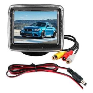 3.5in Screen Monitor 720P High Definition Digital LCD 2 Way Car Monitor for Reverse System