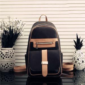 HH Männer Frauen Rucksäcke Große Kapazität Mode Reisetaschen Bücherbags Klassische Stil Frauen Rucksack Persönlichkeit Reisetasche