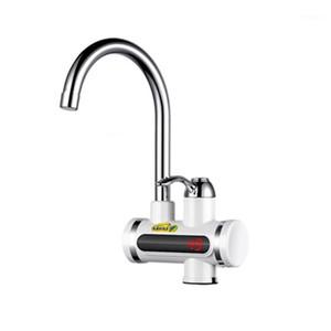 MRSAA 220V 1500W ABS de alumínio ABS instantânea Torneira de água rápida Torneira elétrica quente