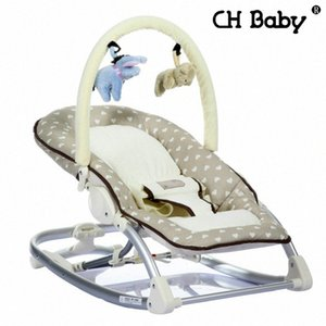Freies Verschiffen Busy Baby-Mental-Baby-Schaukelstuhl Infant Lehnstuhl Cradle Handbetrieb Stuhl plVn #