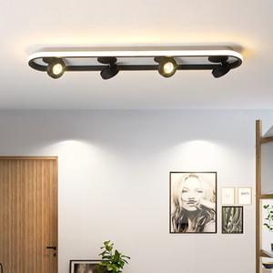 Simple led aisle lights balcony lamp corridor ceiling lights modern creative cloakroom foyer home porch bedroom ceiling lamp