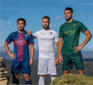 20 21 SD هويسكا لكرة القدم بالقميص المنزل بعيدا الثالثة الخضراء 2020 2021 camisetas دي فوتبول ساندرو أوكازاكي J.Ontiveros رافا مير زي كرة القدم