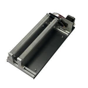 제 4 회 회전축 회전식 지그 실린더 조각 회전식 축 사용 CO2 레이저 기계 광섬유 마킹 레이저 기계