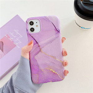 Marble Crack Matte Phone Cases For iphone 11 Pro Max XR X 7 8 Plus Case Cover Silicone Soft TPU Cell Phone Cases
