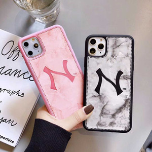 Stylist IPhone Case Iphone 11 11Pro  11P Max  XSMAX 7P 8P 7 8 XR X XS Casaual Prinet High Quality Designers Phone Case Black Pink Color-