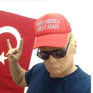 Presidenziale Donald SH190922 del partito del costume di Halloween lattice per Lifelike Cospaly Trump Billionaire presidenziale Donald SH190922 Hallowee IRGM