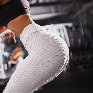 3D Fashion Womens Sports Joga Pants Sexy Scrunch Fitness Leggins Breathable Fold High Waist Push Up Gym Workout Sports Wear