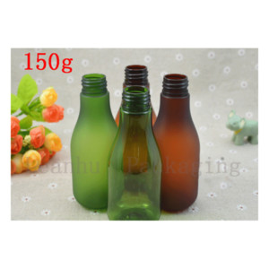 150 ml Green Brown Frosted Bottle Moisturizing Spray Empty Plastic Cosmetic Bottles Cosmetics Packaging