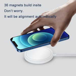 magsafe wireless charger for iPhone 12 mini Pro Max 15W magnetic wireless charger mobile phones fit for QI certification