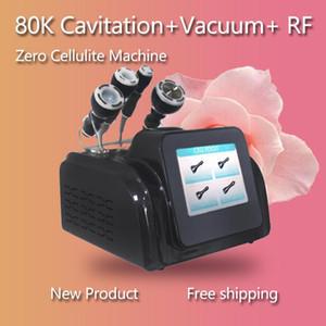 80k Kavitation 4 in 1 RF Fettabbau Cellulite Skin Straffingmaschine, Heißer Verkauf Tragbare HF-Hautverstärkungskavitation Abnehmen Maschine Haut R