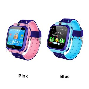 Q12 Kids Smart Watch LBS SOS Waterproof Tracker Smart Watch for Kids Anti-lost Support SIM Card Compatible for Android Phone with Retail