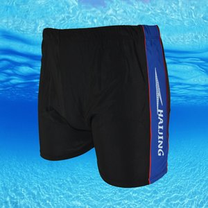 Fattening men's Swimming Trunks new style swimming shorts flat angle fashion quick drying hot spring swimming trunks