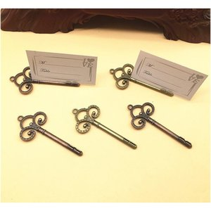 vintage key place card holder key shape table number holders wedding favors key to my heart table card holder---fp1021