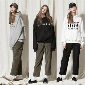 Mens Womens FRIENDS Print Hoodie Sweatshirt Hoody Coat Ladies Pullover Top Loose Casual Womens Jumper Pull Femme1