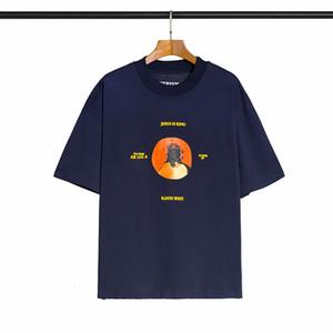 Primavera Estate 2020 God Graffiti Brand Collaboration Designer Tshirt Fashion Men Donne T Shirt Casual Cotton Tee