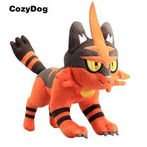 32 см аниме Torracat плюшевая игрушка кукла мягкие фаршированные животные Peluche игрушки для детей подарок новые с тегом 201222