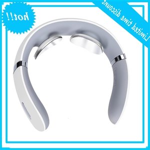 Genpibear Smart Electric Neck Shoulder Body Massage Low frequency Magnetic therapy Pulse Pain control Tool Health care