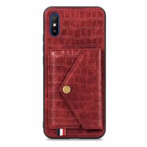 luxury Leather Case For xiaomi Redmi Note 8 9 Pro 8T K30 Pro ZOOM 9 9A 9C 10X Pro Case Wallet Cover for xiaomi Mi 10 lite kickstand case