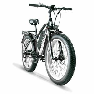 전기 자전거 Cyrusher XF650 1000W 48V 13Ah 지방 타이어 전기 산악 자전거