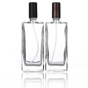 50PCS 50ml Spray Bottle Perfume Scent Sample Vial Fragrance Vial Cosmetic kit Accessorie Atomizer Liquid Container SN4792