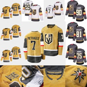 7 Alex Pietrangelo Vegas oro Cavalieri 2020 Oro terzo Jersey Fleury Ryan Reaves Mark Stone William Karlsson Robin Lehner Alex Tuch Nosek