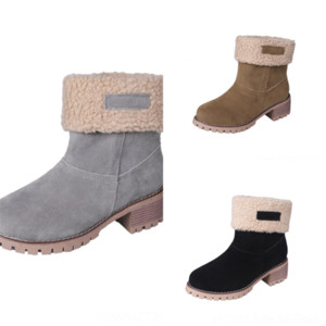 04V invierno hombre sofr boot boot boot dama roja fondo botín Eleonor Botta altura gamuza mujeres sobre cuero tacones altos moda botas de rodilla