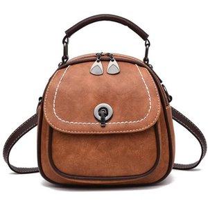 NEW-Litchi Verschluss-Schnalle Tasche Weibliche Schultertasche Shell Pouch Diagonal-Paket