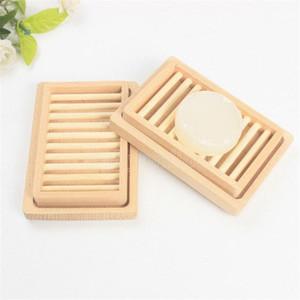 Оригинальность стойки мыла лоток для хранения ящик для хранения блюда двойной DIY два слоя палуба женщины мужчина мода поставки деревянные держатель