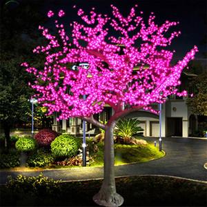 LED al aire libre LED Cherry Blossom Árbol Luz Lámpara de árbol de Navidad 2304PCS LEDs 9.8ft / 3.0m Altura 110VAC / 220VAC Gota a prueba de lluvia Envío