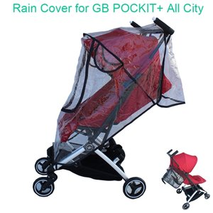 1:1 Tailor Made Baby Stroller Accessories Goodbaby Raincoat Rain Cover Dust-proof Cover Windproof Cover for GB POCKIT+ All City LJ201012