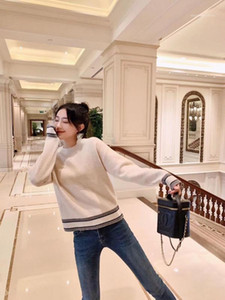 Paris CD High Quality Cashemere Jersey Fashion Street style Sweater Winter 2020 Runway Collection1