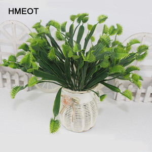 New style simulation plants flytrap grass Office living room home decoration Dionaea Muscipula Carnivorous Plants bonsai potted