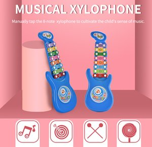 Novos brinquedos som estranho crianças percussão pequena percussão 8 crianças Instrumentos musicais meninos e meninas brinquedos de música