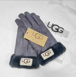 1121 Winter Fleece Gloves Thicken Warm Ski Glove Snowboard Mittens Sports Five Finger Gloves Party Favor