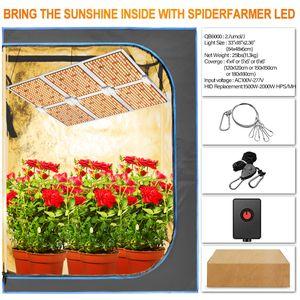 2020 Hot Sale QB Samsung lm301b LED Grow Lights 1000W 2000W 4000W 6000W Full Spectrum Dimmable Quantum Grow Light Led For Plants
