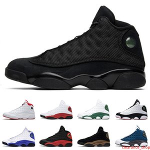 13s men shoes high top Island Green BLACK CAT BRED CHICAGO HYPER ROYAL WHEAT jumpman 13 mens athletic sports sneakers