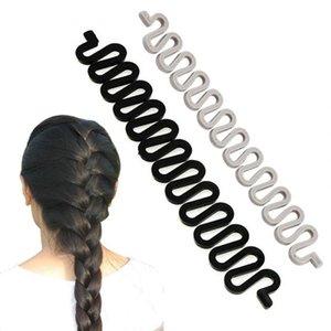 100pcs lot Women Fashion DIY Hair Braiding Braider Tool Roller With Magic Hair Twist Styling Bun Maker for Girls