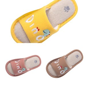 Summer Toddler Baby Boys Girls Little Kid Warm Cute Animal Home Shoes Slippers Kids Hotel Zapatillas Nino OORJ