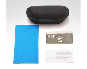 Barato caixa dura zipper gancho óculos de sol caixa óculos caso preto metal plástico esportes sol óculos capa caixa de pano livre shi