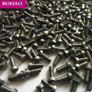 100 unidades novas peças de reparação sax parafusos sax parte Diâmetro: Comprimento: 3 milímetros 6mm