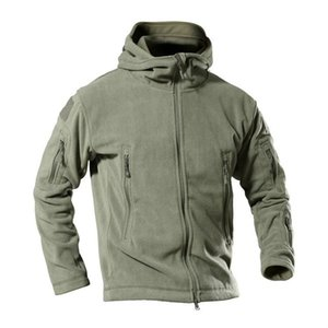 Chaquetas para hombre EE. UU. Hombres tácticos Tácticos Outdoor Winter Warm Swell Sports Sports Coats Softshell Senderismo Ejército