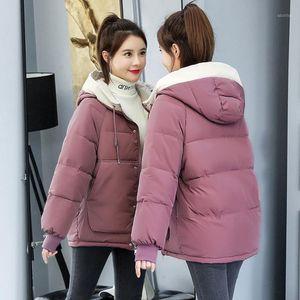 Plus Size Winter Women's Jacket New 2020 Pakra Winter Women's Coat Long Slim Hooded Thick Warm Coats Women Clothing Black1