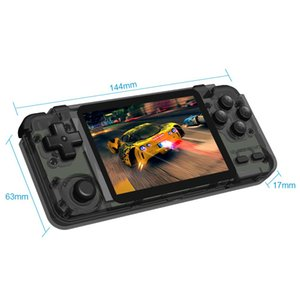 New Rk2020 Handheld Game Console 3.5 Inch Ips Built In 10000 Games For Ps1 3d Games Portable Pocket Video Game Player jllWZY book2005
