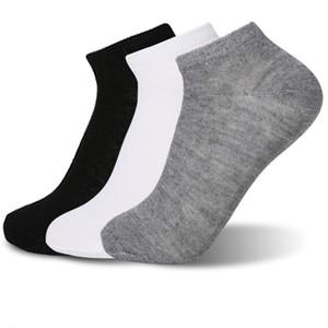 Mens Sock Mens High Quality Short Sock Cotton Blend Comfortable Teenagers Gray Socks Student Underwear