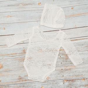1Cross-border new children's photo clothing newborn lace clothing full moon 100 days baby princess hat clothing